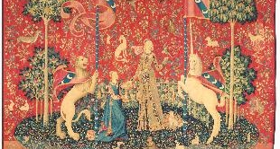 15 - LADY AND THE UNICORN, CIRCA 1500 ANONYMOUS