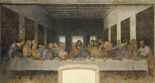 27 - THE LAST SUPPER BY LEONARD DE VINCI, BY GERALD PASSEDAT