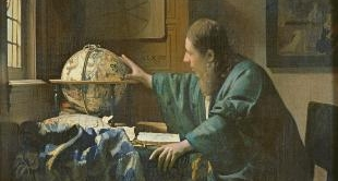16 - THE ASTRONOMER (1668) BY JOHANNES VERMEER