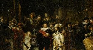 19 - THE NIGHT WATCH (1642) BY REMBRANDT VAN RIJN