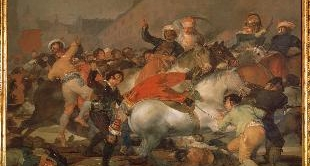 20 - THE SECOND OF MAY 1808 (1814) BY FRANCISCO GOYA