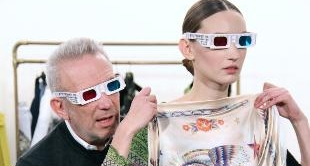 JEAN PAUL GAULTIER AT WORK