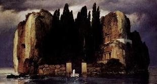 ISLE OF THE DEAD - ARNOLD BOCKLIN (THE)