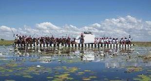 268 - ZAMBIA : THE FU NOMADS OF THE ZAMBEZI RIVER
