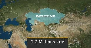 MAPPING THE WORLD - KAZAKHSTAN: A BRIDGE BETWEEN CHINA AND EUROPE