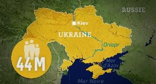 MAPPING THE WORLD - UKRAINE, A CROSSROADS OF INFLUENCE