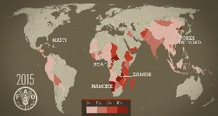 MAPPING THE WORKD - WHY ARE THERE STILL FAMINES