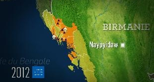 MAPPING THE WORLD - ROHINGYAS, BIRMANS AND MUSLIMS