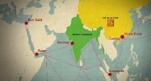 MAPPING THE WORLD - HONG KONG RETURNS TO CHINA
