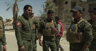 SYRIA: RAQQA'S MINE CLEARERS - 06-16-2018