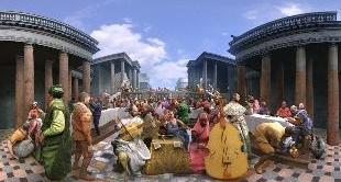 THE WEDDING AT CANA BY PAOLO VERONESE (VR 360°)