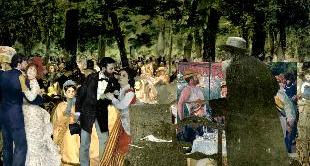 23 - DANCE AT LE MOULIN DE LA GALETTE, 1876, RENOIR