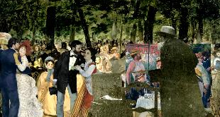 23 - DANCE AT LE MOULIN DE LA GALETTE, 1876, RENOIR