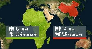 MAPPING THE WORLD - CHINAFRICA