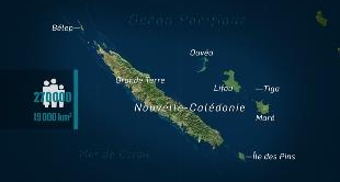 MAPPING THE WORLD - NEW CALEDONIA
