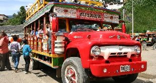 167 - CHIVAS, THE COLORFUL BUSES OF COLOMBIA