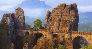 177 - ELBE SANDSTONE MOUNTAINS - A MYTH OF STONE AND WOOD