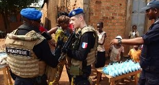 CENTRAL AFRICAN REPUBLIC: THE PEACEKEEPERS ARRIVE