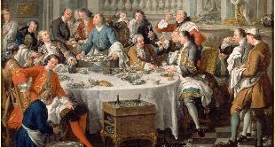 10 - LUNCHEON WITH OYSTERS BY JEAN-FRANCOIS DE TROY