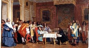 LOUIS XIV AND MOLIERE BY LEON GEROME