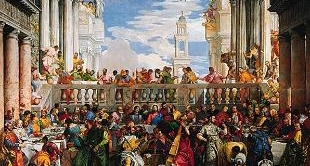 05 - THE WEDDING AT CANA (1563) BY PAOLO VERONESE
