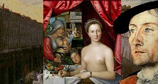 10 - A LADY IN HER BATH (1571) BY FRANCOIS CLOUET