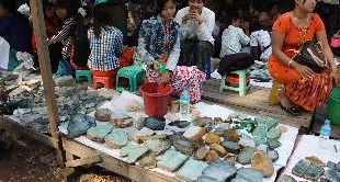 187 - THE JADE MARKET IN THE GOLDEN TRIANGLE