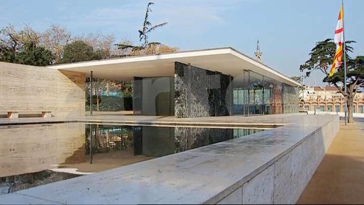 barcelona pavilion model